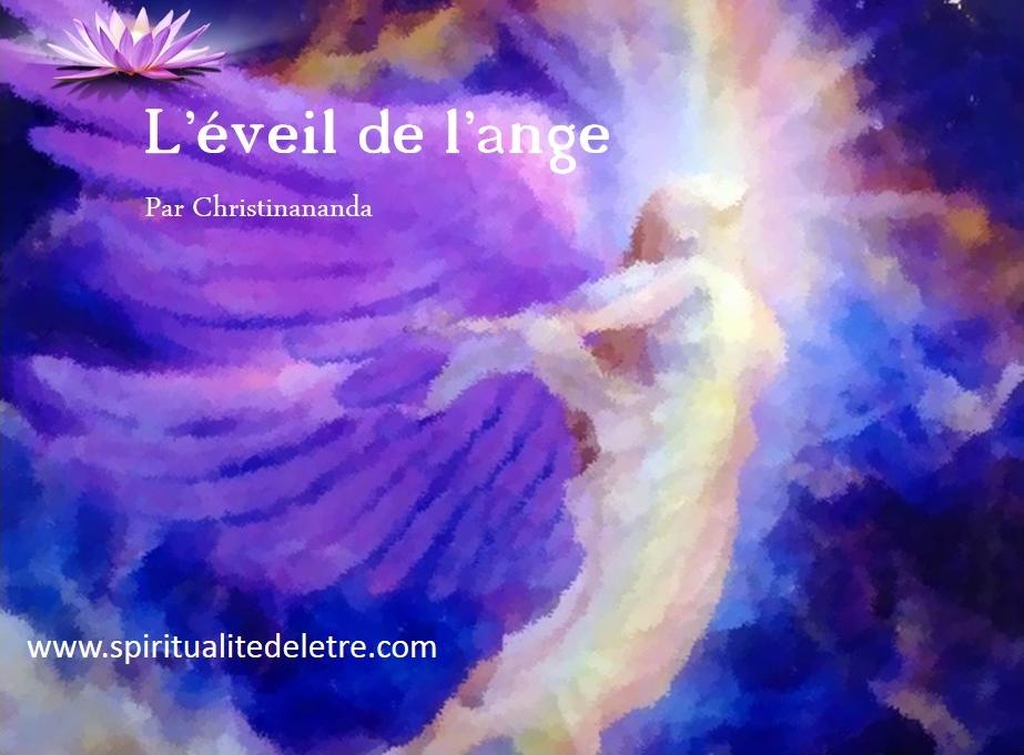 eveil de l'ange page titre v.f.