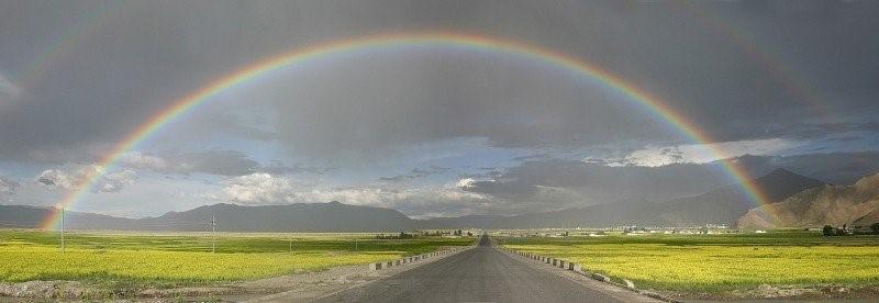 La symbolique de l'arc-en-ciel